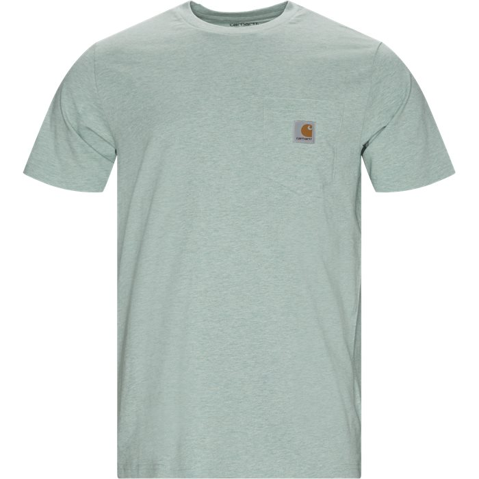S/S Pocket Tee - T-shirts - Regular - Grøn